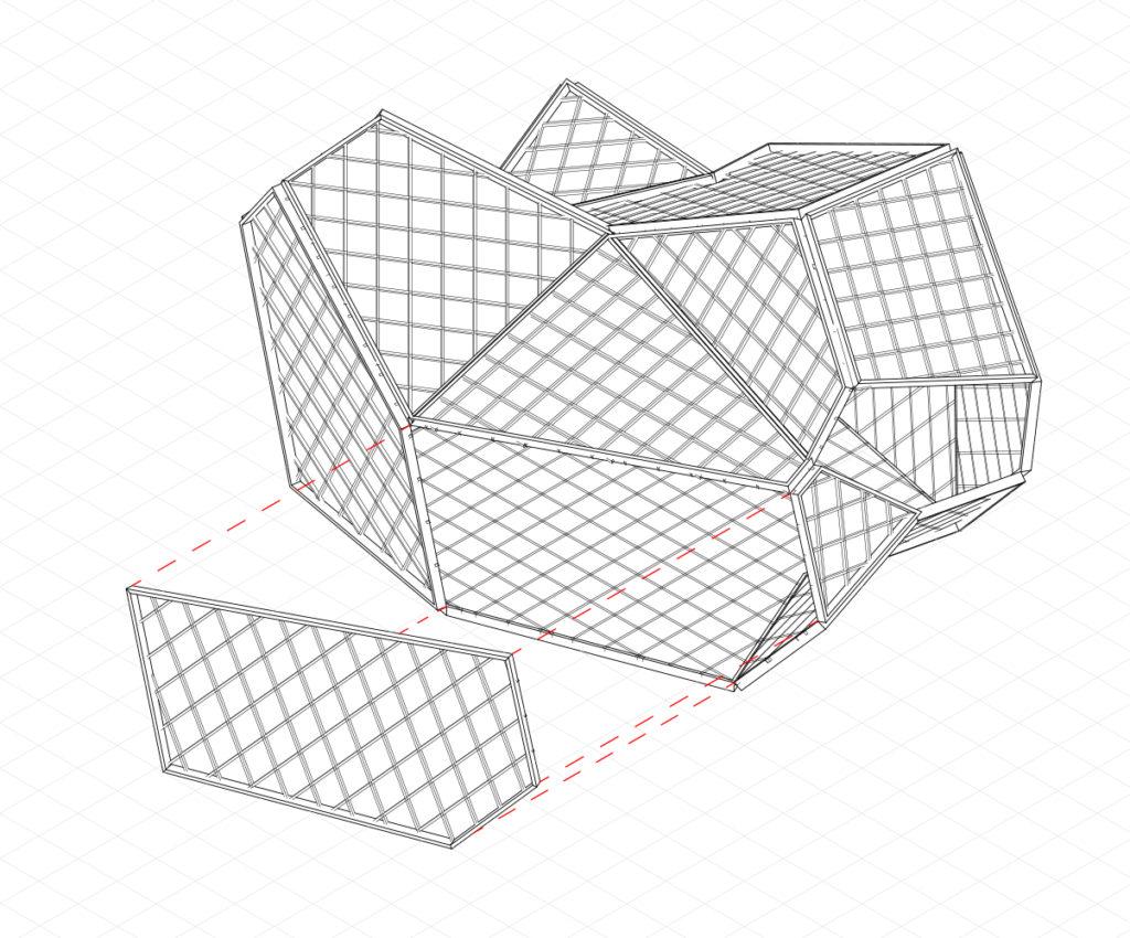 Prefabricated buildingparts
