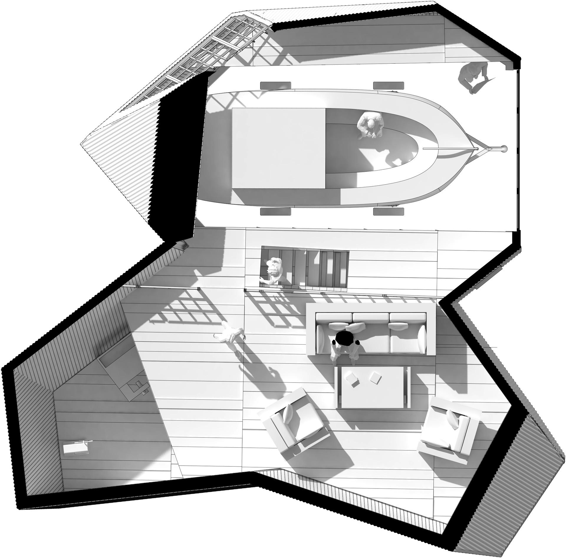 Plan top floor