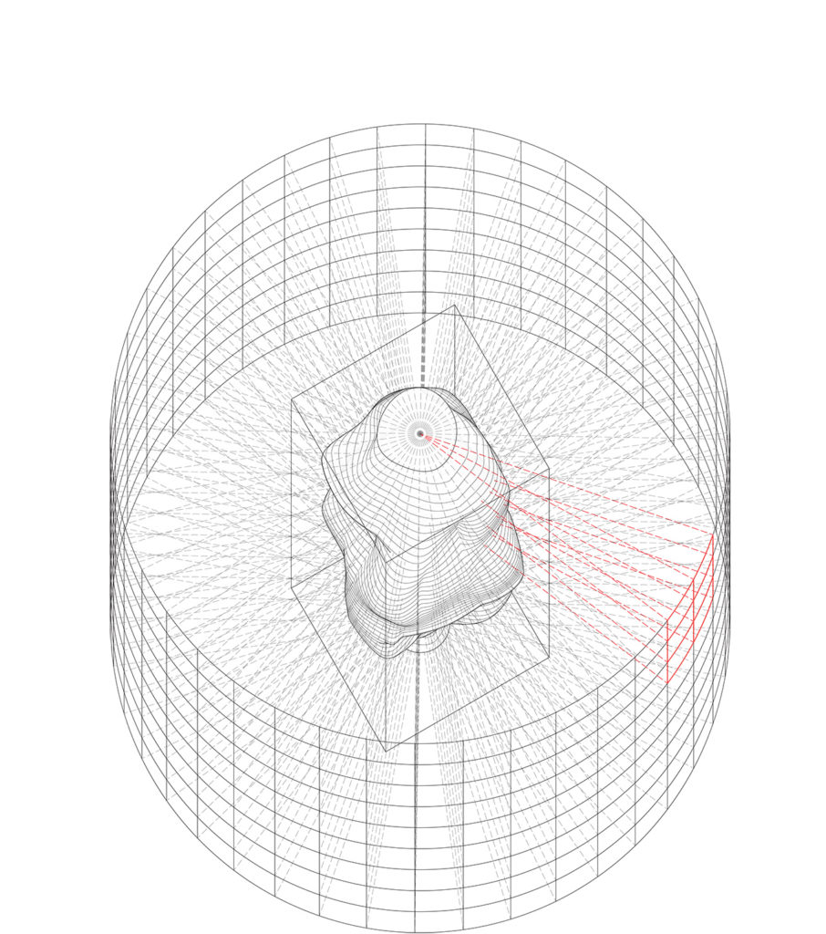 4. PROJECTION OF THE INSIDE PATTERN ON THE INTERIOR DESIGN
