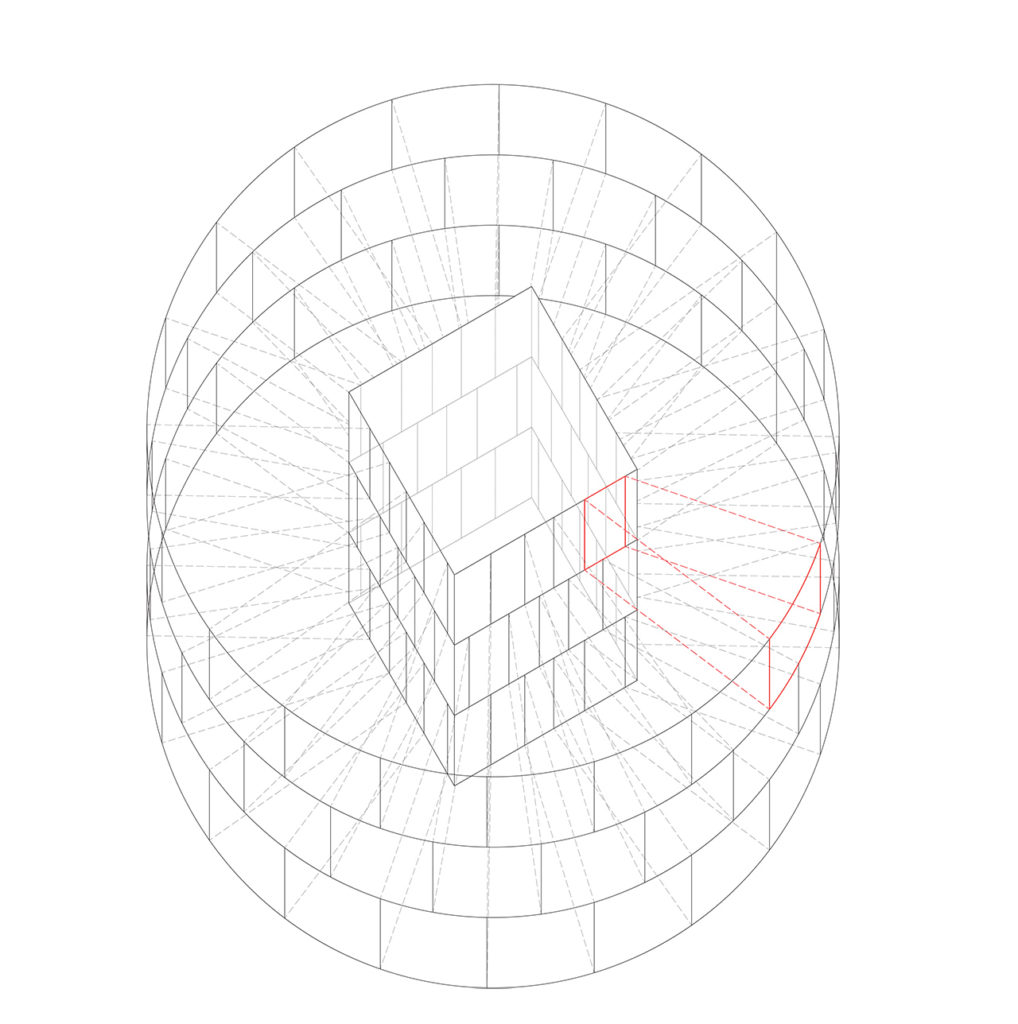 6. OUTSIDE PATTERN CONNECTED WITH INSIDE FACETS