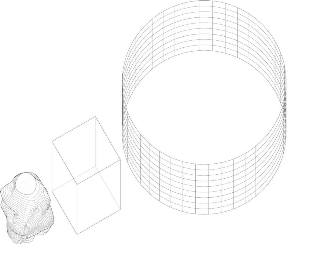 1. INSIDE SHAPE - OUTSIDE SHAPE - PROJECTION PATTERN